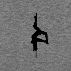 Inverted Pole Dancer - Women's Wideneck Sweatshirt