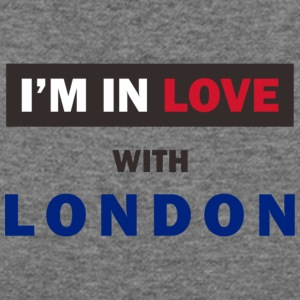 I'm in love with London! - Women's Wideneck Sweatshirt