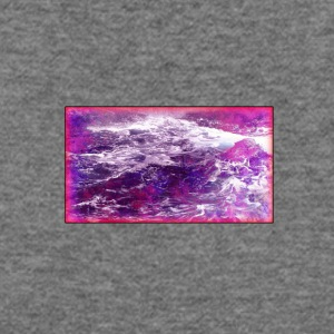 Purple_Waves_Frame - Women's Wideneck Sweatshirt