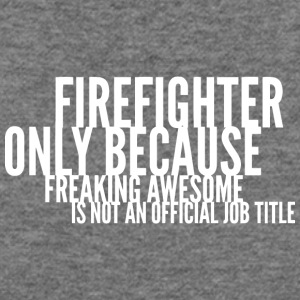 Firefighter - Women's Wideneck Sweatshirt