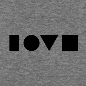 Love Symbols - Women's Wideneck Sweatshirt