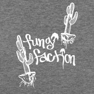 Floating Desert Cactus - Fungi Faction - Women's Wideneck Sweatshirt