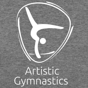 Artistic_gymnastics_white - Women's Wideneck Sweatshirt