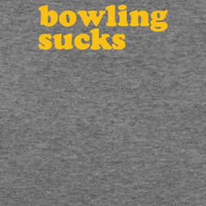 Bowling Sucks - Women's Wideneck Sweatshirt