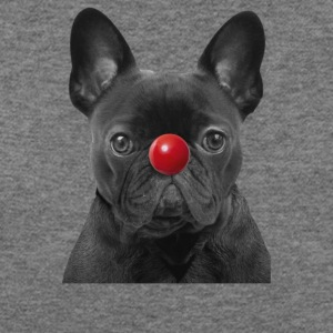 Red Nose Day Frenchie - Women's Wideneck Sweatshirt