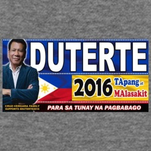 Duterte Icon - Women's Wideneck Sweatshirt