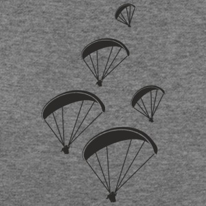 team paragliding - Women's Wideneck Sweatshirt