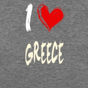 I love GREECE - Women's Wideneck Sweatshirt