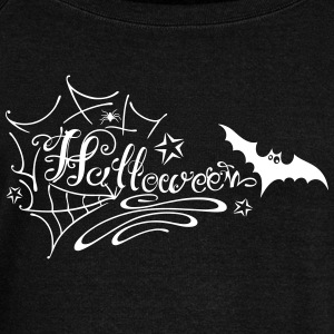 Halloween Lettering - Women's Wideneck Sweatshirt