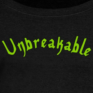 Unbreakable - Women's Wideneck Sweatshirt