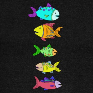 5 Fish - Women's Wideneck Sweatshirt