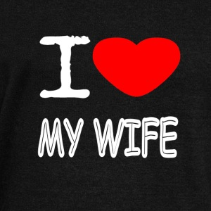 I LOVE MY WIFE - Women's Wideneck Sweatshirt