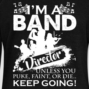 Band Director Shirt - Women's Wideneck Sweatshirt