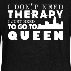 Queen Therapy Shirt - Women's Wideneck Sweatshirt