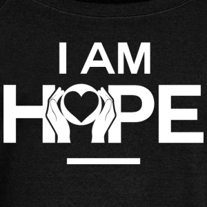 I AM HOPE Affirmation - Women's Wideneck Sweatshirt