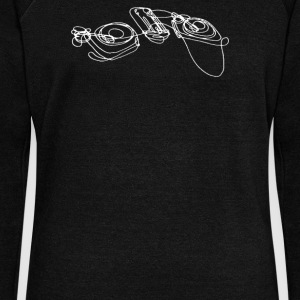 Turntables - Women's Wideneck Sweatshirt