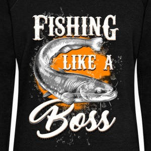 Fishing like a BOSS - Women's Wideneck Sweatshirt