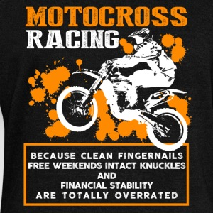 Motocross Racing Shirt - Women's Wideneck Sweatshirt