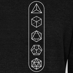 platonic-solids - Women's Wideneck Sweatshirt