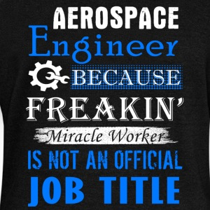 Aerospace Engineer Job Title Shirt - Women's Wideneck Sweatshirt