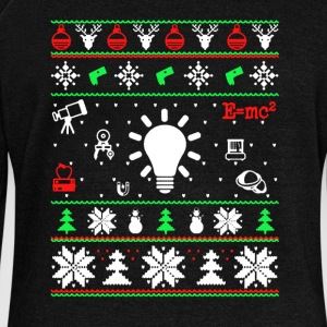 Physics Christmas Shirt - Women's Wideneck Sweatshirt