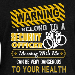 I Belong To A Security Officer Shirt - Women's Wideneck Sweatshirt