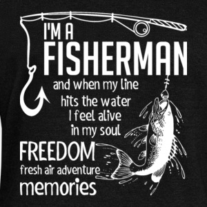 I Am A Fisherman T Shirt - Women's Wideneck Sweatshirt