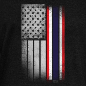 Thai American Flag - Women's Wideneck Sweatshirt