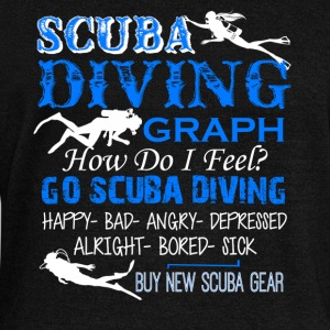 Scuba Diving Shirt - Women's Wideneck Sweatshirt