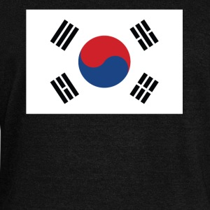Flag of South Korea Cool South Korean Flag - Women's Wideneck Sweatshirt