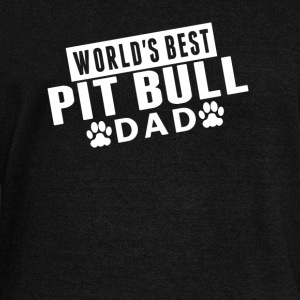 World's Best Pit Bull Dad - Women's Wideneck Sweatshirt