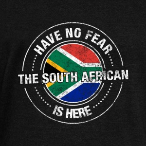 Have No Fear The South African Is Here Shirt - Women's Wideneck Sweatshirt