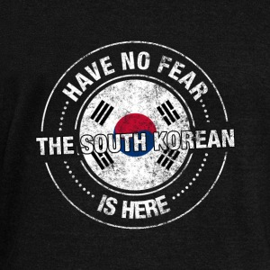 Have No Fear The South Korean Is Here - Women's Wideneck Sweatshirt