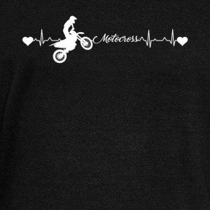 Motocross Heartbeat Shirt - Women's Wideneck Sweatshirt