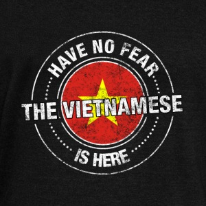 Have No Fear The Vietnamese Is Here Shirt - Women's Wideneck Sweatshirt