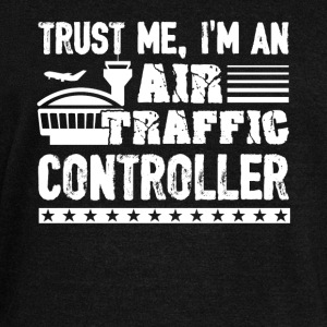 Air Traffic Controller Shirt - Women's Wideneck Sweatshirt