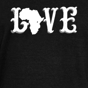Love Africa Shirt - Women's Wideneck Sweatshirt