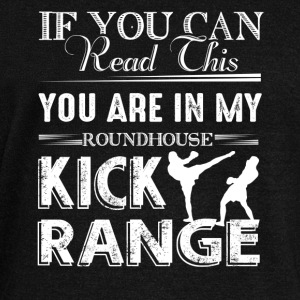 Roundhouse Kick Range Shirt - Women's Wideneck Sweatshirt