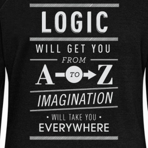 Logic wii get you from imagination - Women's Wideneck Sweatshirt
