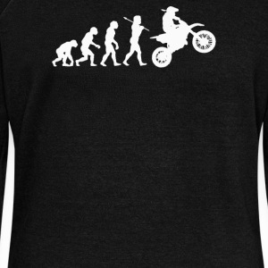 EVOLUTION MOTOCROSS - Women's Wideneck Sweatshirt