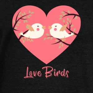 Love Birds - Women's Wideneck Sweatshirt