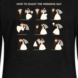 how to enjoy the wedding day - Women's Wideneck Sweatshirt