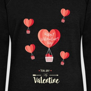 Happy Valentines Day - Women's Wideneck Sweatshirt