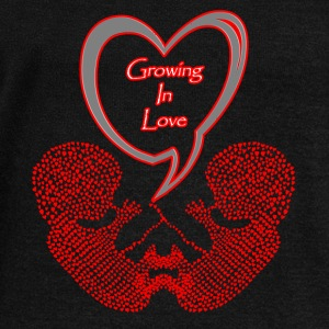 Mommy to Be Twins Growing in Love! - Women's Wideneck Sweatshirt