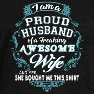 Freaking Awesome Wife T Shirt - Women's Wideneck Sweatshirt