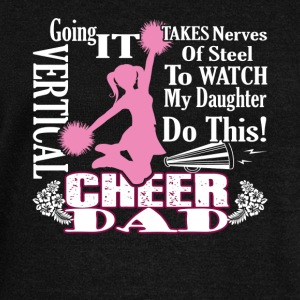 Cheer Dad Shirt - Women's Wideneck Sweatshirt