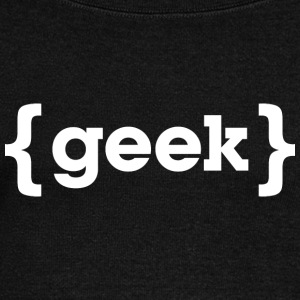 geek T Shirt - Women's Wideneck Sweatshirt