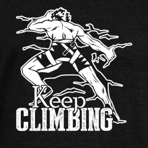 KEEP CLIMBING SHIRT - Women's Wideneck Sweatshirt
