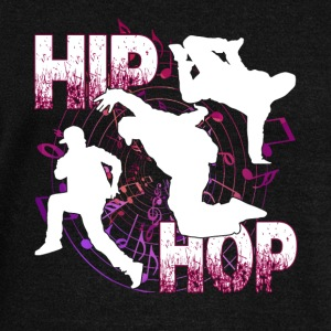 HIP HOP SHIRT - Women's Wideneck Sweatshirt