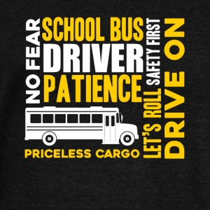 SCHOOL BUS DRIVER SHIRT - Women's Wideneck Sweatshirt